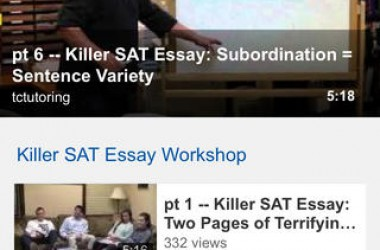 Killer SAT Grammar iOS App Review: Master Your SAT Grammar On Your iPhone!