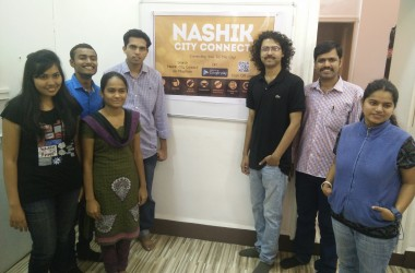 Nashik City Connect App Launched At The Press Event By Zabuza Labs