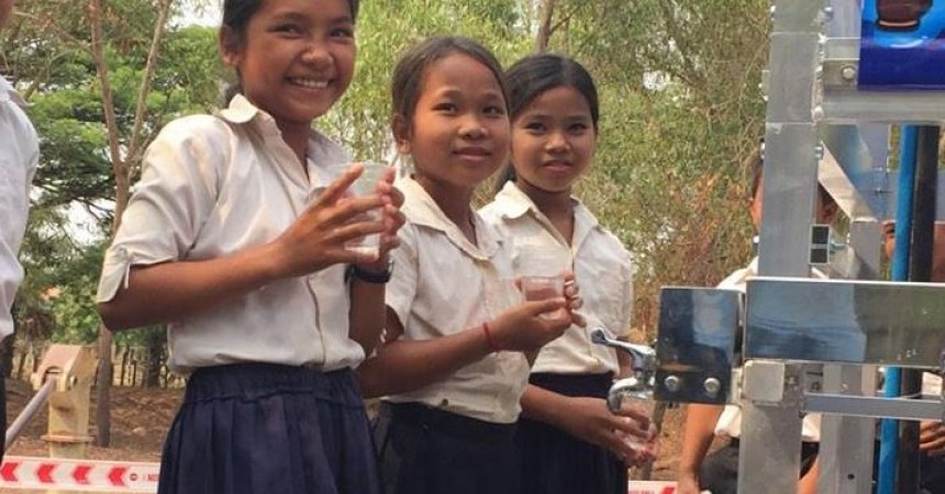 Indian IT Company, Raybiztech, Teamed up With Planet Water Foundation to Provide Clean Water to School Children