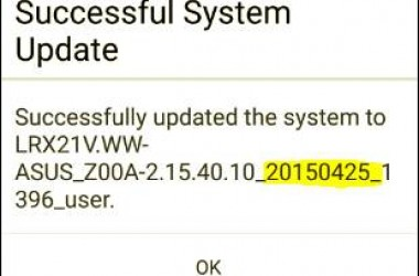 First Ever Asus Zenfone 2 Over The Air (OTA) Update Rolls Out: Features & Details!