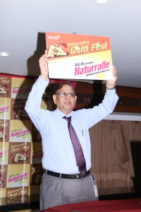 Mr.KS.Rao  unveil the Naturralle Gold Fest