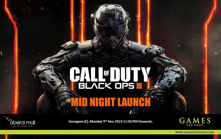 games the shop announces midnight launch for call of duty black ops iii digital conqueror. Black Bedroom Furniture Sets. Home Design Ideas