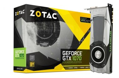 ZOTAC GeForce® GTX 1070 Founders Edition Launched in India