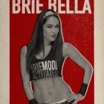 BRIE BELLA WWE Rooster Card