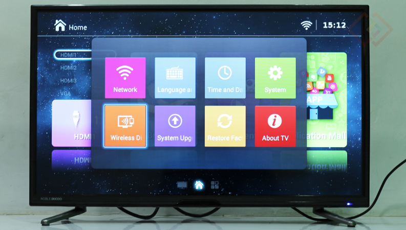 noble skiodo 32-inch tv apps