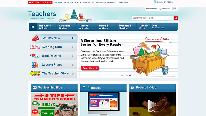 Scholastic For Teachers