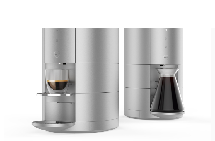 Centrifugal Coffee Maker : Spinn adding tech to your flavor of specially made coffee