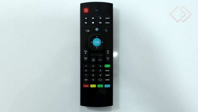 noble skiodo 32-inch tv remote
